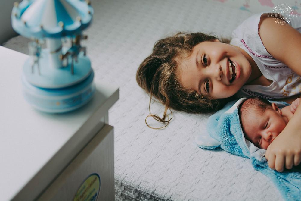 Ensaio Newborn Lifestyle em casa recém-nascido