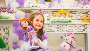 Festa Infantil Porto Alegre - 5 anos da Belle - Jesien Fotografia
