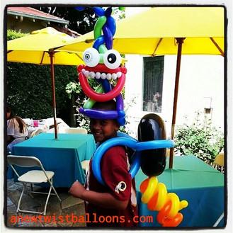 Wearable balloon animals__#Wearables #aN