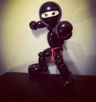 Ninja balloon by Marcus of A New Twist E