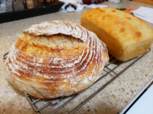 Classes - Basic Sourdough Breads, Saturday June 12, 10am- 12pm