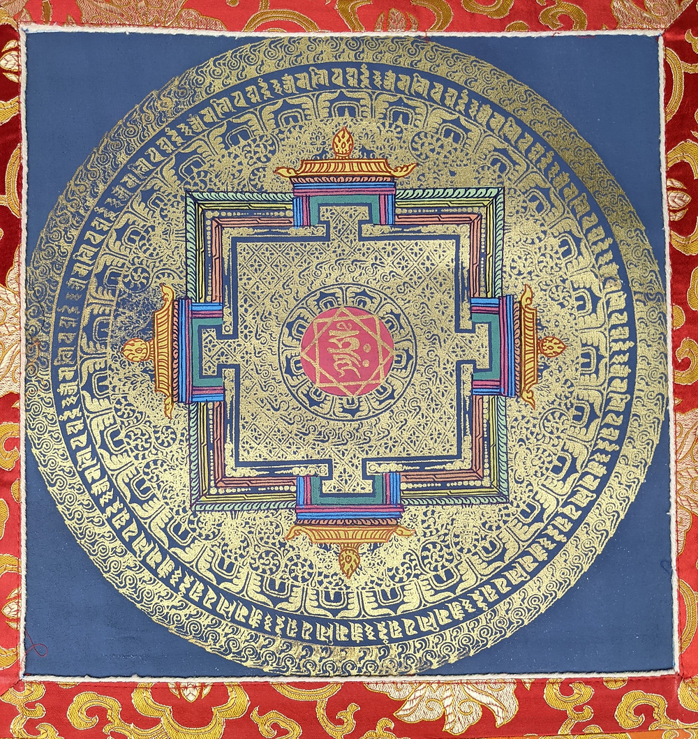 Una Thangka rappresenta il Kalachakra