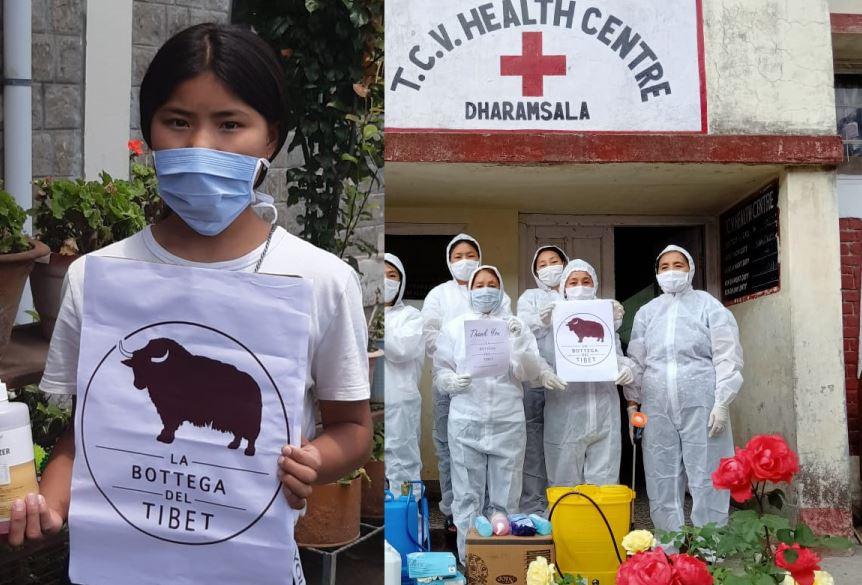 La bottega del tibet donazione covid19