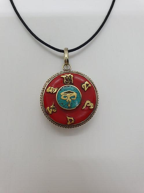 Ciondolo simboli tibetani
