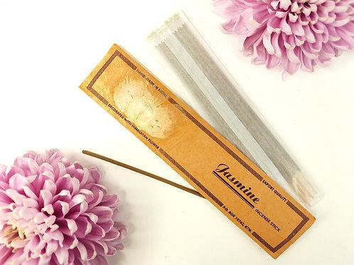 Incenso Gelsomino / 100% Naturale in Confezione Lokta con fiore Himalayano
