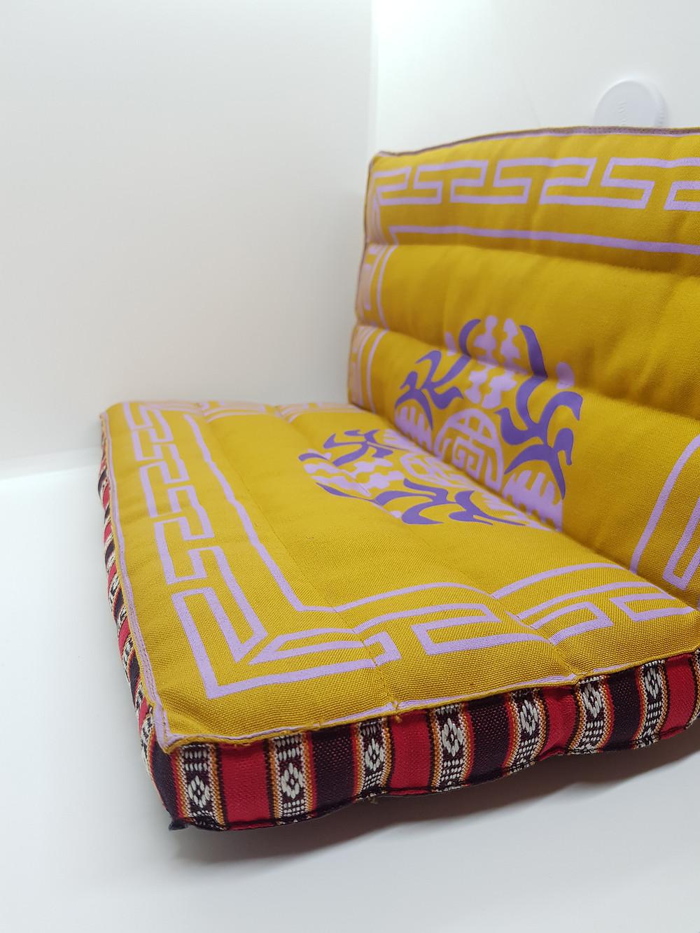 Cuscino pieghevole la bottega del tibet yoga meditazione