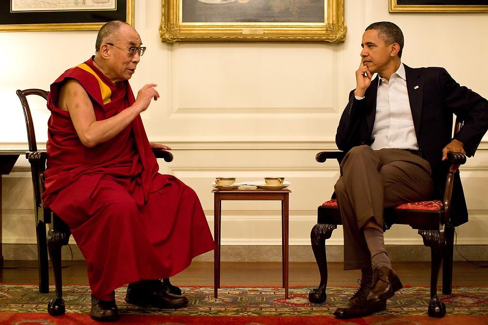 HH Dalai Lama e Barack Obama