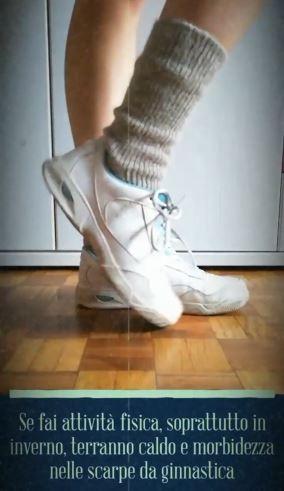 Calze alpaca ginnastica sportive