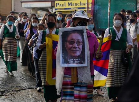 Un saluto a Ama Tapontsang Adhe - portavoce dei diritti umani in Tibet
