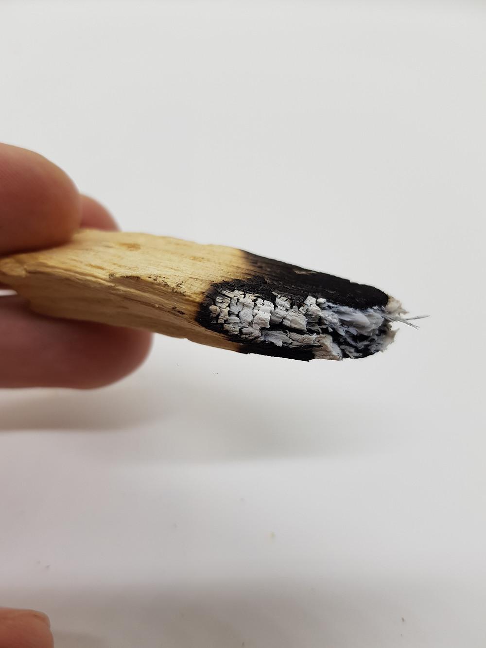 palo santo brescia come si brucia