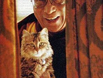 Il Dalai Lama e il suo amore per gli animali - gatti in particolare.
