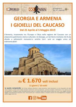 AMERIGO VIAGGI: GEORGIA E ARMENIA