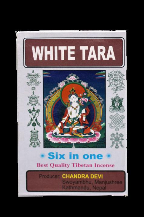 """Confezione """"White Tara"""" Incenso / Sei Incensi in una sola confezione"""