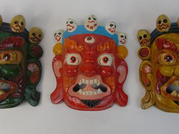 Maschere Tibetane: cosa rappresentano e chi è la divinità Mahakala?
