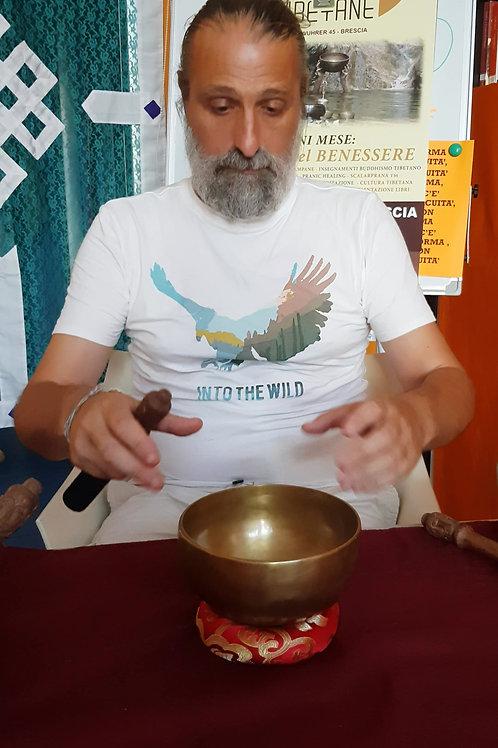 Campana tibetana 15cm- 1v