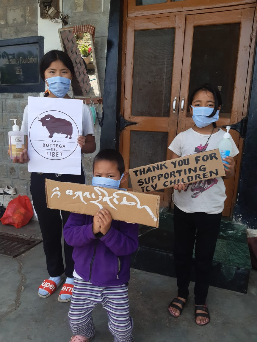 La Bottega del tibet donazione bambini tibetani