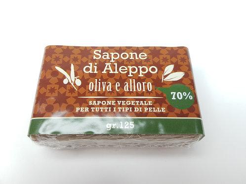 Sapone di Aleppo Olio di Alloro 70% & Olio di Oliva 30%