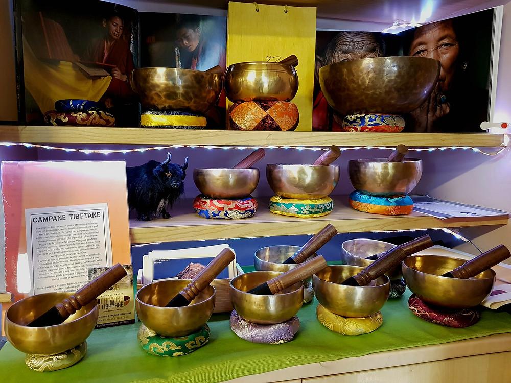 Campane tibetana storia