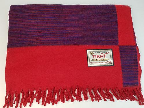 Coperta in lana di yak grande art 322