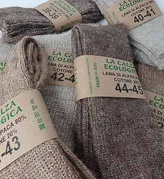 calze di lana alpaca naturali ecologiche