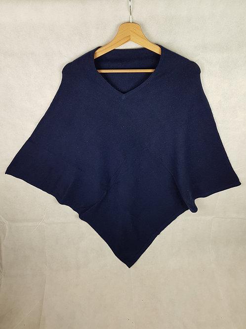 Poncho in cashmere art 157
