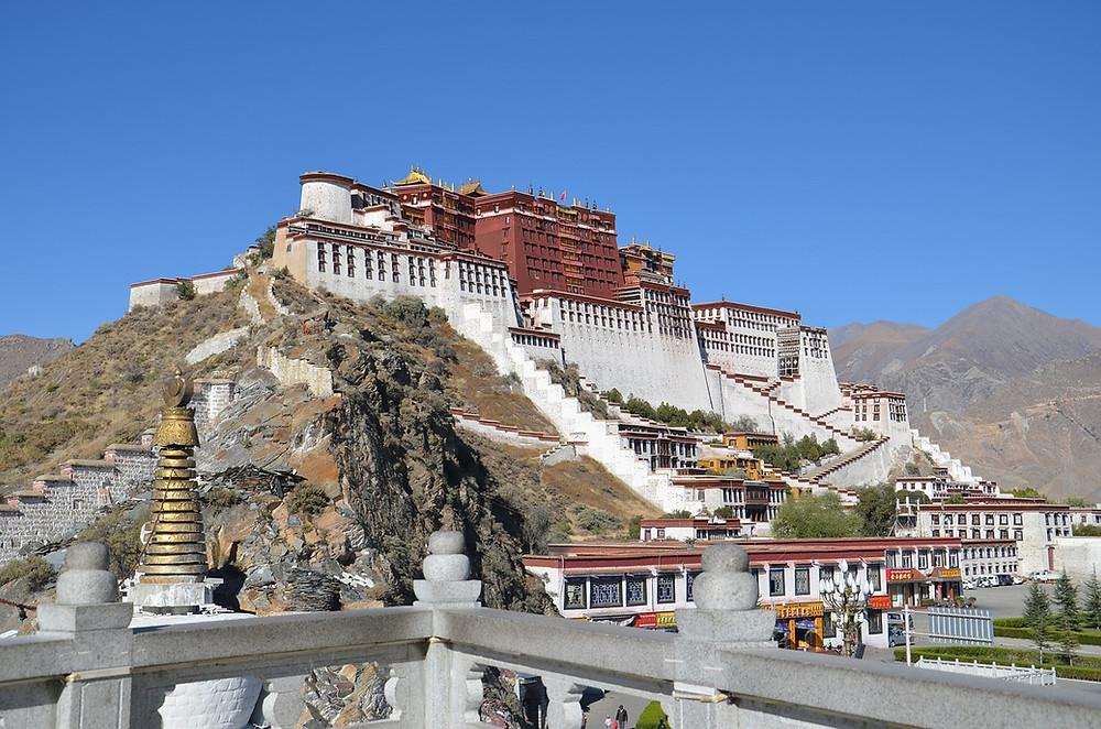 Lhasa - capitale tibet