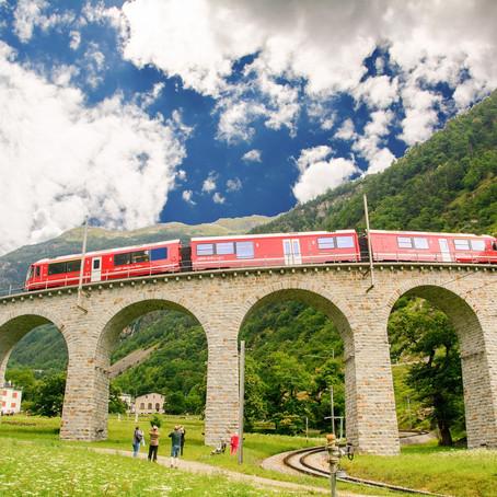 TRENINO DEL BERNINA: Percorso, Tappe e la Storia del Treno più alto d'Europa