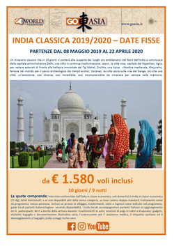 AMERIGO VIAGGI: INDIA CLASSICA