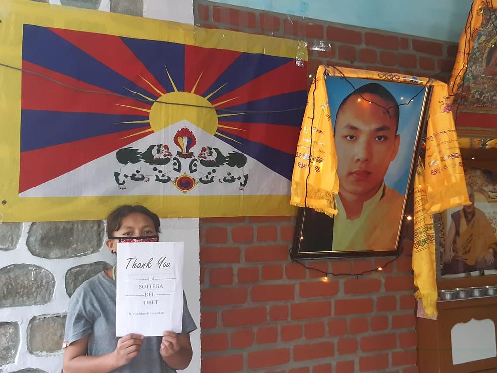 La Bottega del tibet bandiera tibetana