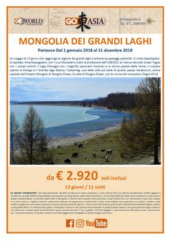 AMERIGO VIAGGI:MONGOLIA
