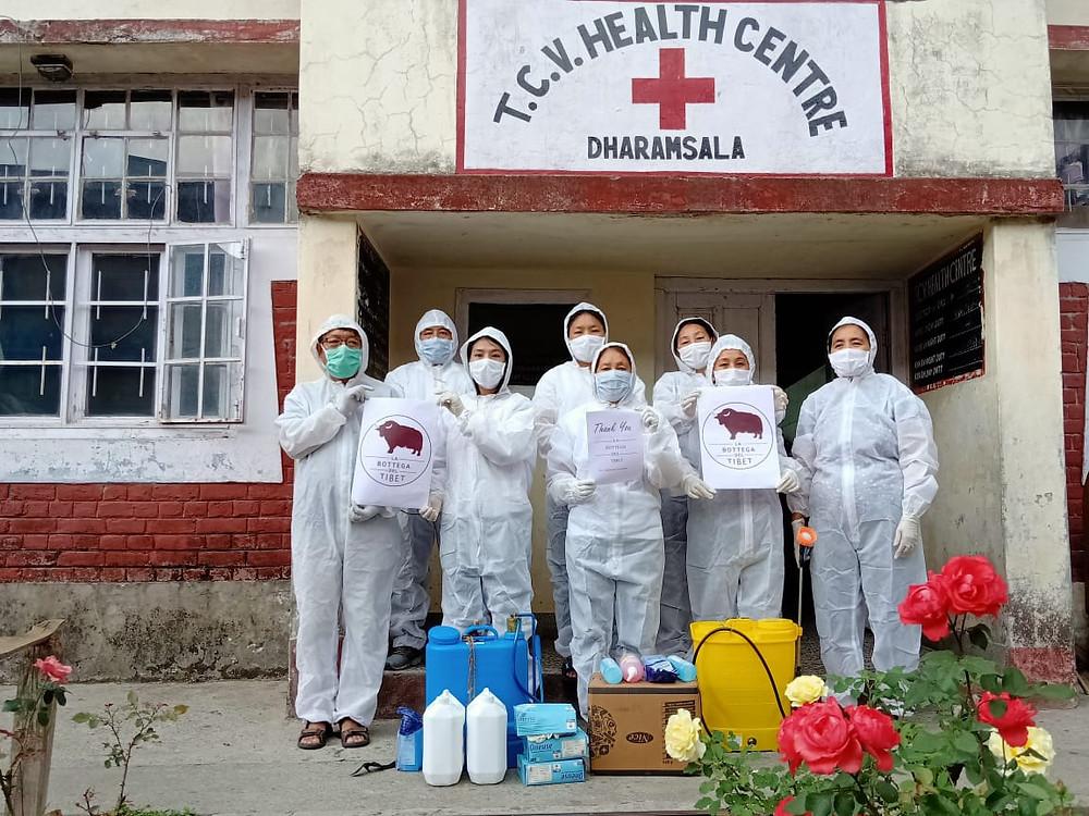 La Bottega del tibet donazione ospedale tcv