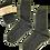 Thumbnail: CALZE BLU: LANA CLASSICA 80% COTONE 20%