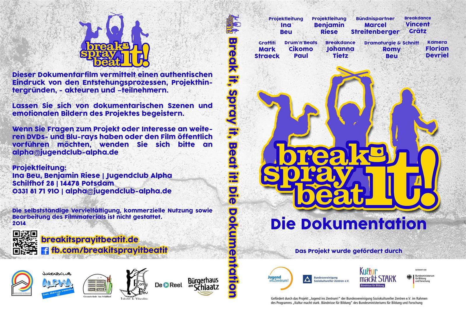 """""""Break it, Spray it, Beat it!"""" 2014"""