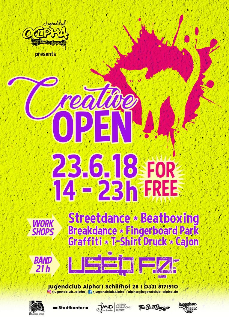 Creative Open 2018