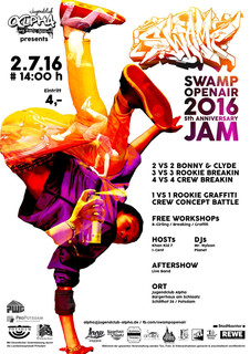 SWAMP OpenAir 2016 - 5th Anniversary JAM