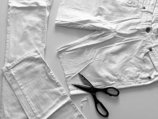 DIY: Denim shorts