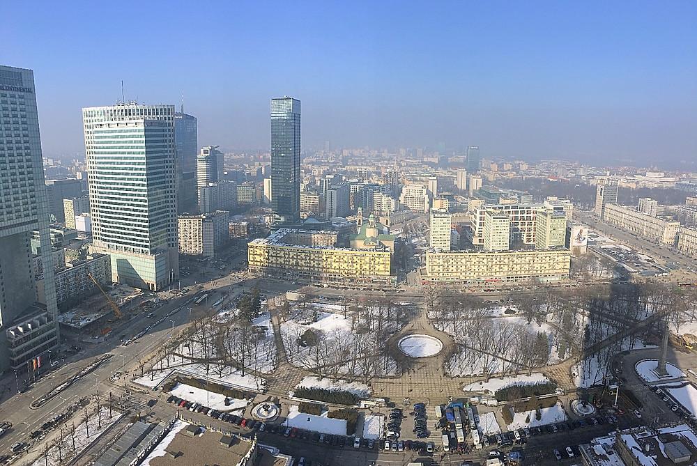 Downtown Warsaw