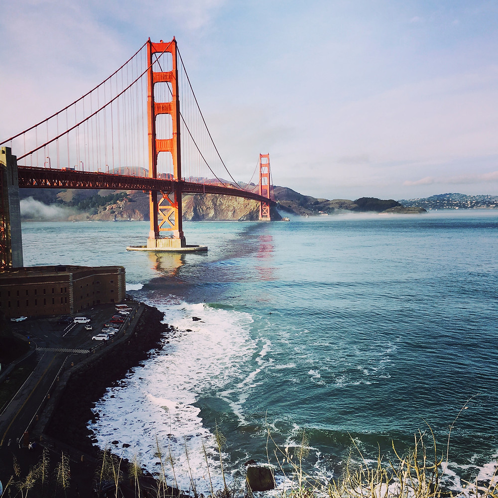 San Francisco Bay and The Golden Gate