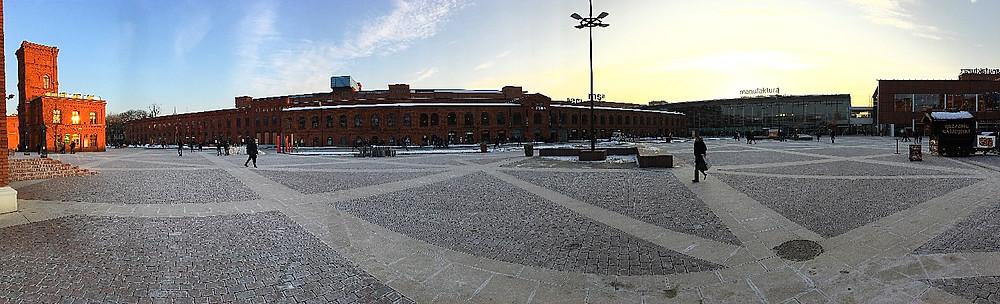 Manufaktura, Lodz