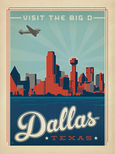 Dallas, The Big D
