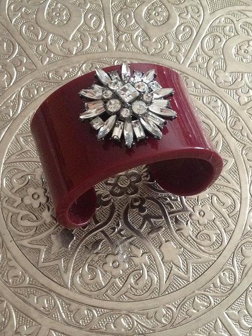 Bracelete com cristais