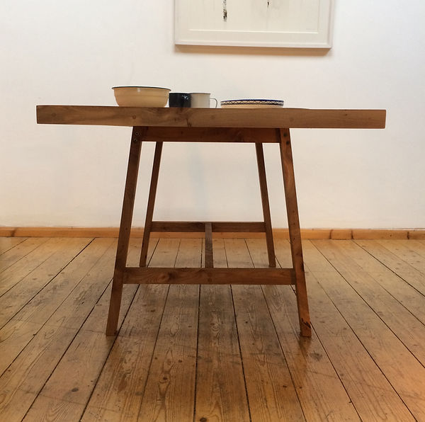 Elm kitchen table