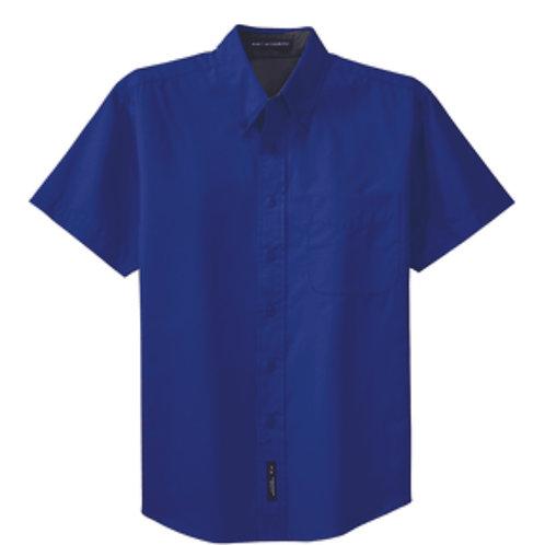 CS - Short Sleeve Full Button (Men/Women's)