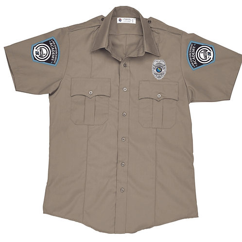 BC - Full Button Twill Shirt (Long/Short Sleeve)