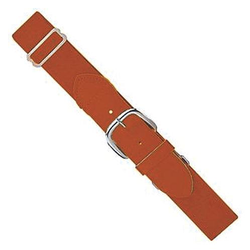 ABaseball - Texas Orange Adjustable Belt