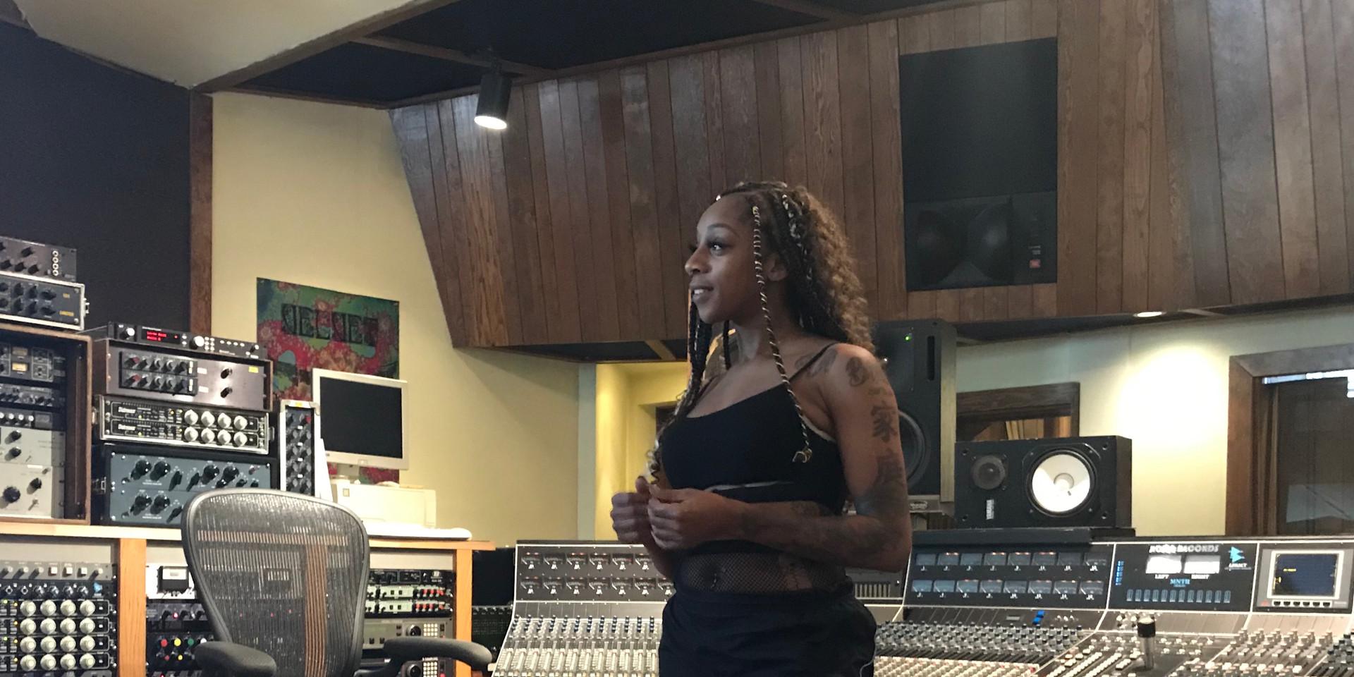 The Dutchess at Avast Recording