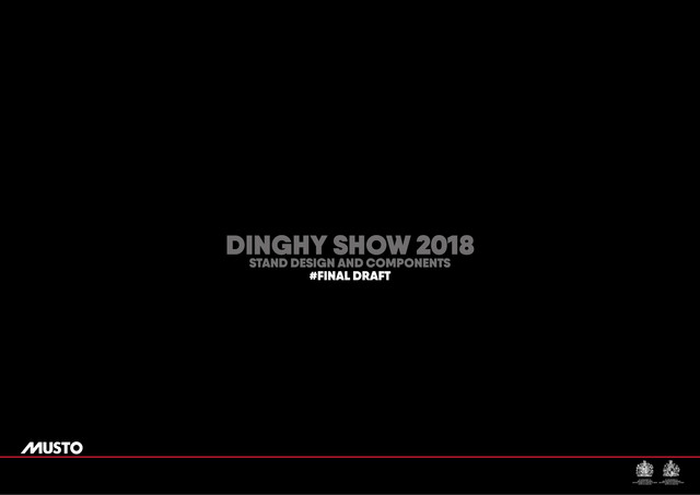 DINGHY 2018 STAND VISUAL