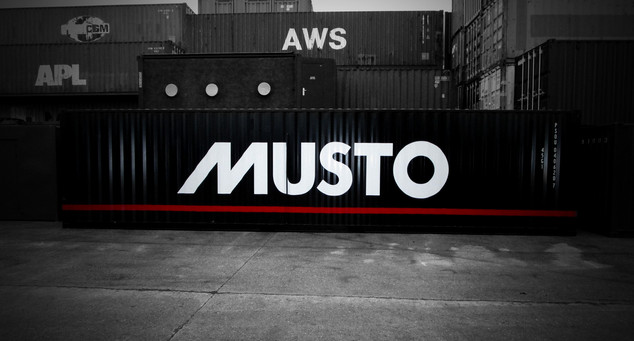 MUSTO OFFCIAL STORE CONATINER