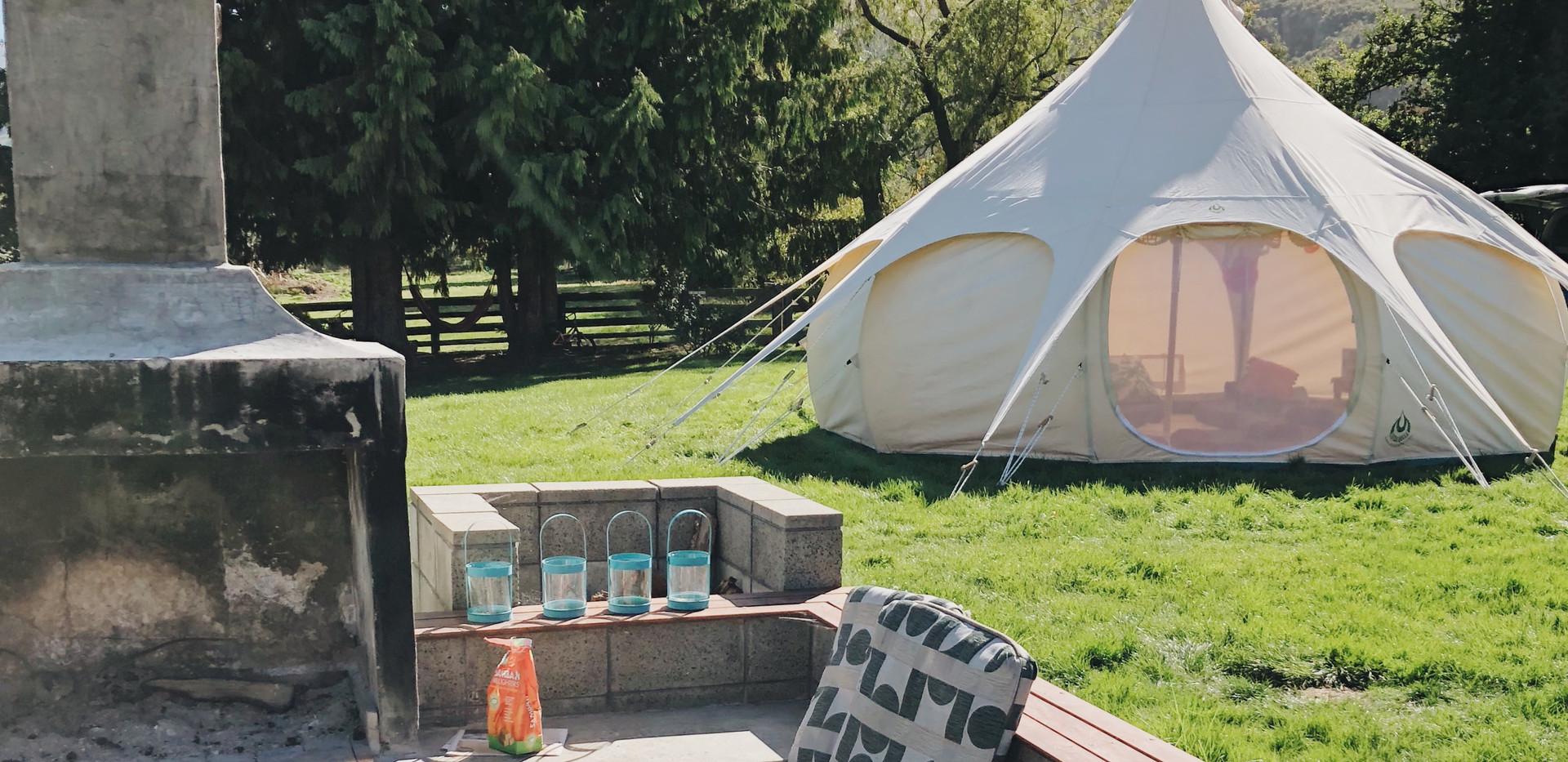 Outdoor Sleepover Tent