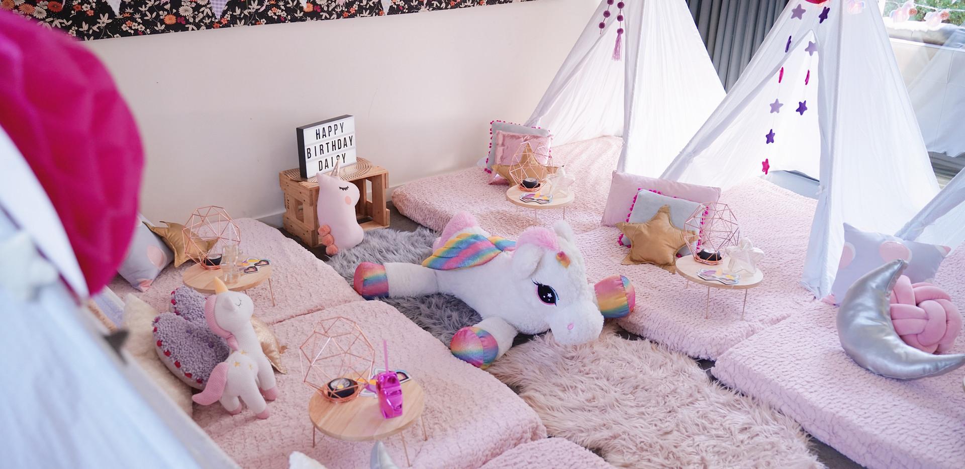 Unicorn Dream Sleepover
